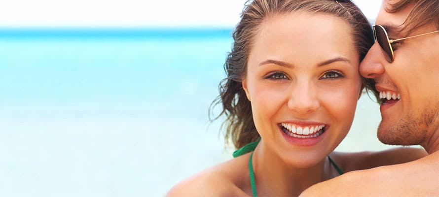 conquistare una donna con il sorriso