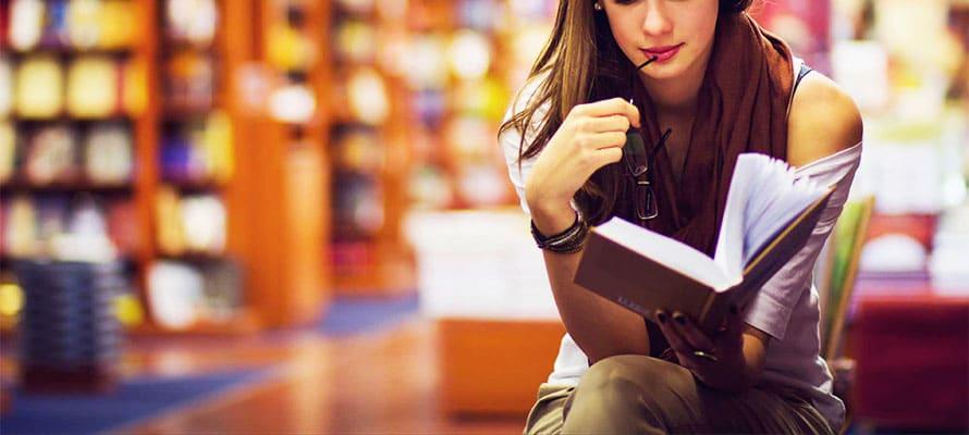 Linea guida per conoscere una ragazza in libreria