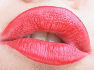 labbra sexy donna