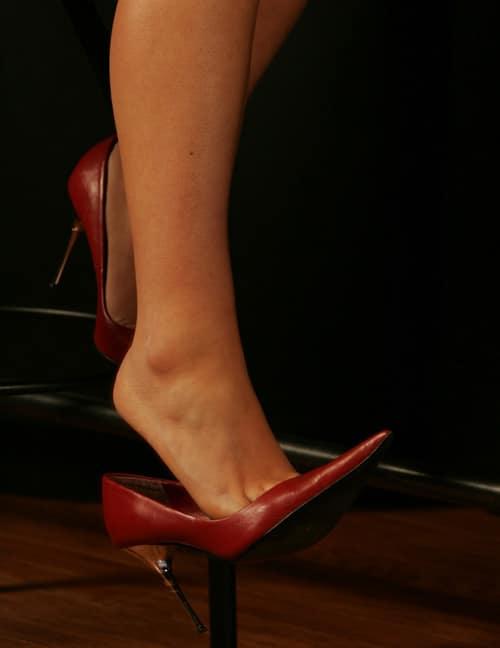 giocare con le scarpe