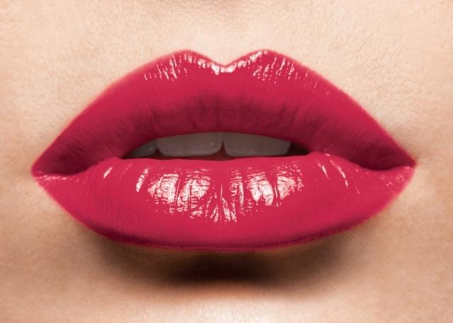 labbra umide donna